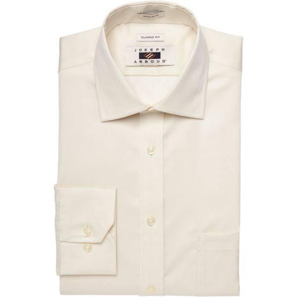 Camisa Mangas Clásica 39 Sin Ajustada Hombre 22 De Tamaño Para Abboud Vestir Joseph 38 XnxXr