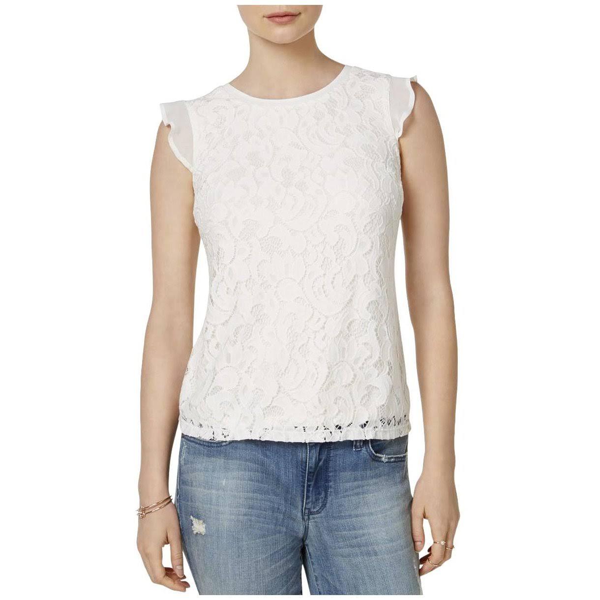 Small Flutter Bluse Knit Größe Jules Maison Schwarz Womens BYqzwHOYPx