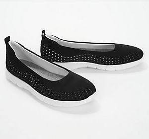 Cloudsteppers Slip step ons Perforato SeaTaglia 6 By LargoNero Clarks Allena wOkn0P