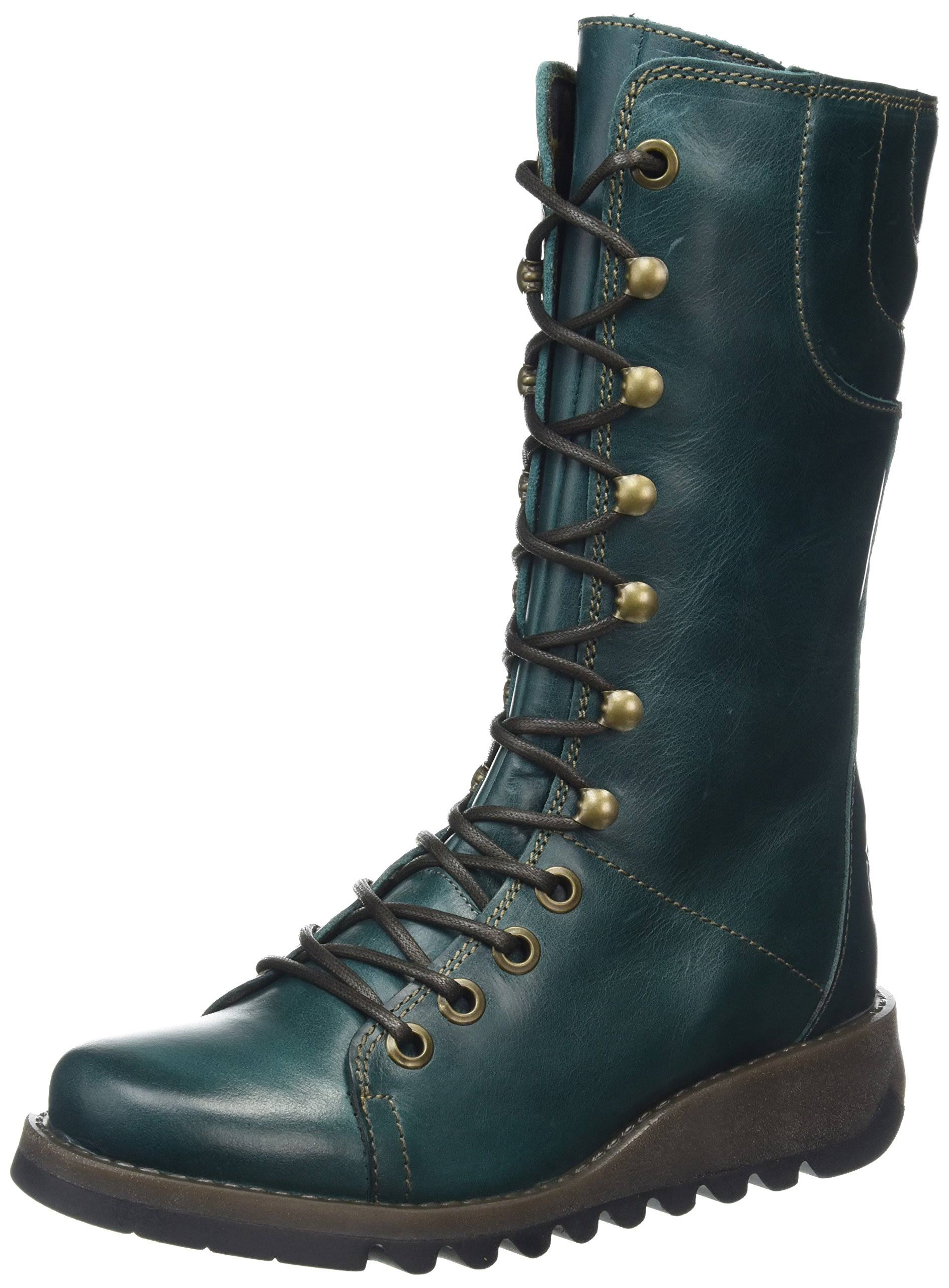 8 Uk Petrol Fly Eu London Women's Boots Green 41 Ster768fly petrol fwFBAqHw