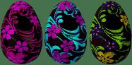 Arkusze transferowe do czekolady - pisanka, 10 arkuszy, 450 szt., 26x40 mm | PAVONI, T111