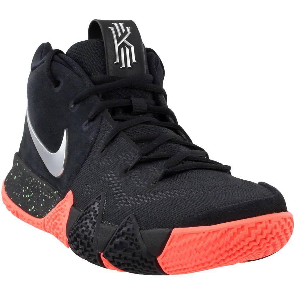 4 Schwarz Basketballschuh Kyrie Metallic Nike Mens silber 5 11 aq1pT