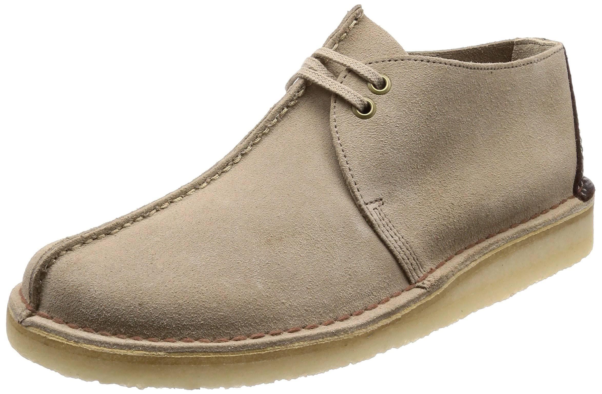 heren bijenwas lederen Desert schoenen Trek Sand Clarks tshdQr
