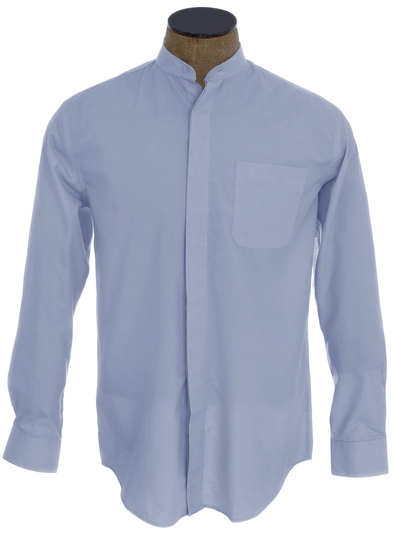 Sunrise De 5 Azul Cuello Para Mangas 33 32 Con Tamaño 15 Camisa Hombres Vestir Sin Outlet x1YwqwRU