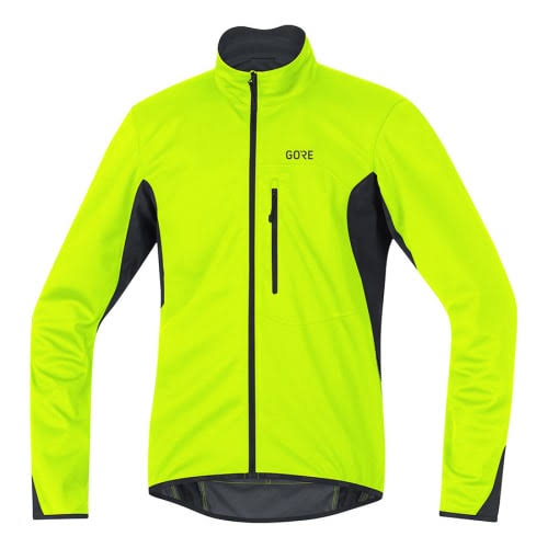 Softshell C3 Wear Gore Jacket Windstopper Fluorescent Yellow Neon M ED2W9HYI
