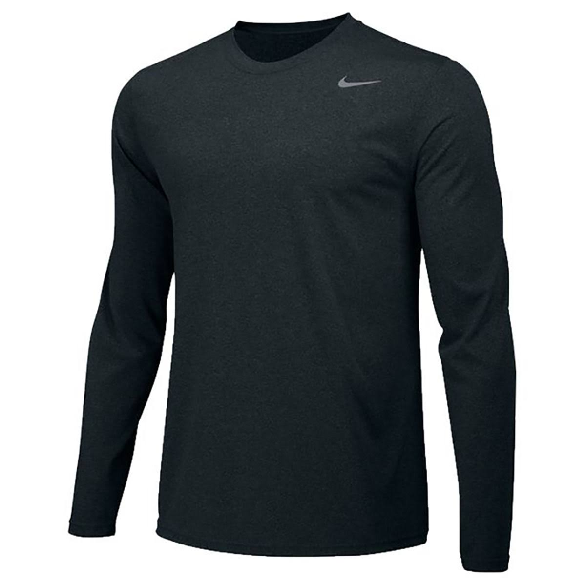 Manga Camiseta Grande Larga De Nike Boy Negro Gris Legend Regular Entrenamiento q4Bp4nwUE