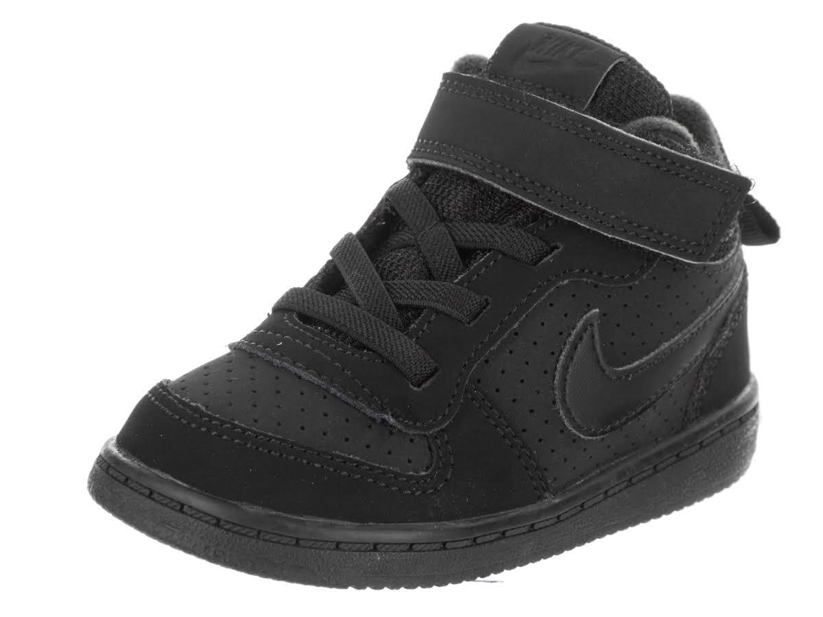 Nike Infant C3 Hi Mid Sneaker Boys Schwarz Größe Borough Court ZwXrqZR