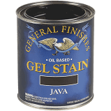 General Finishes 1-pt. Java Oil-Based Interior Wood Gel Stain, Browns/Tans