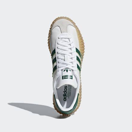 Adidas Verde corriendo X País Colegial Blanco Goma Kamanda FqgHSOF