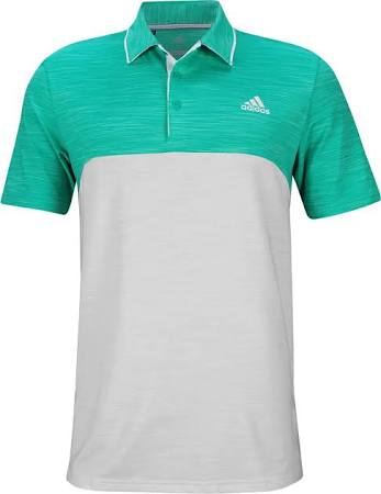 Ultimate365 One Grey Polo Adidas Hi res Blocked Heather Aqua 2x qU1dw1fzxZ