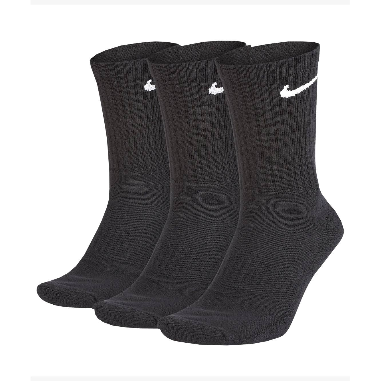 Nike Everyday Cushion Crew 3-Pack Black Socks