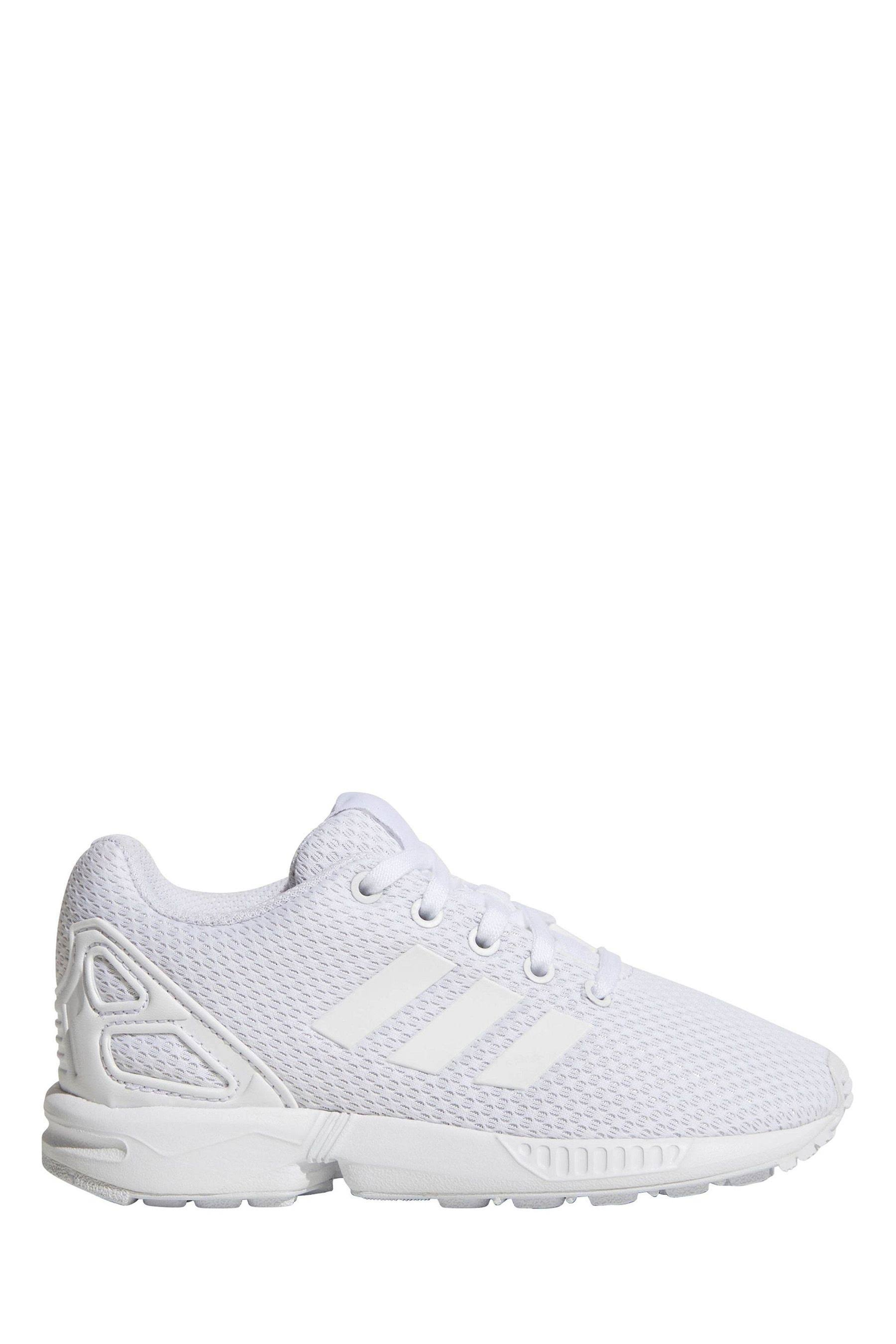 Adidas ZX Flux Shoes - Kids - White