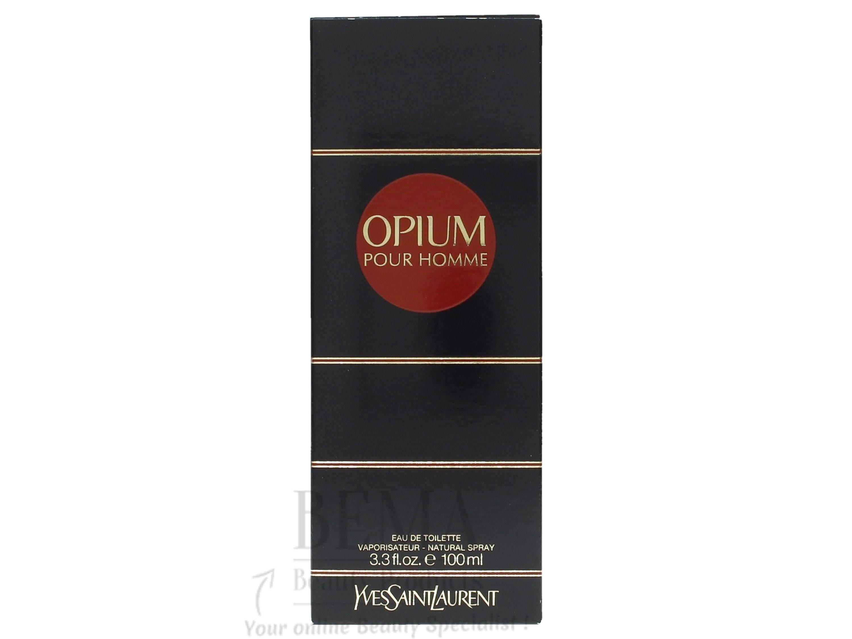 100 Opium Pour Homme Ysl Ml Toilette Eau De Parfum zAqYT