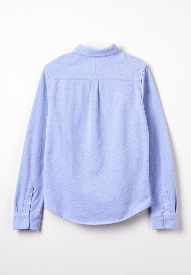 Knöpfen Blau Kids Mit Lauren Jungen Hemd Ralph In XwRZfq