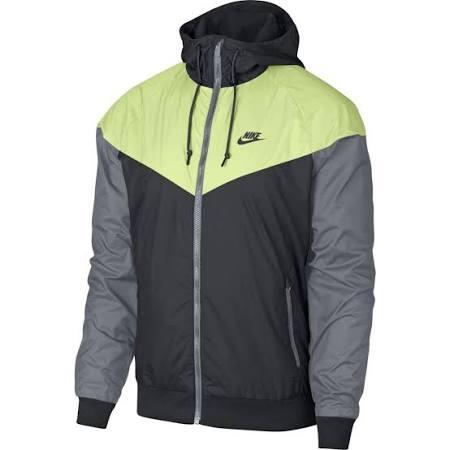 727324060 Gris Negro Tamaño Nike L Voltio Hombre Chaqueta Windrunner PwaRqFZ