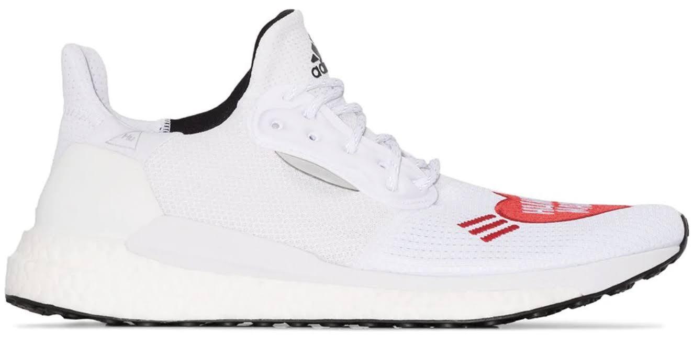 adidas Solar Hu Glide Human Made White Red