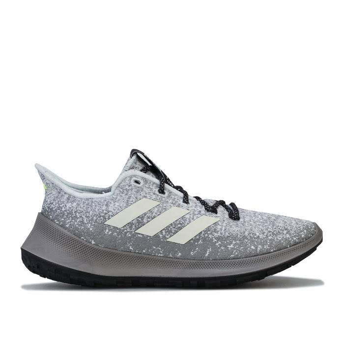Adidas Womens Sensebounce Plus Running Shoes Size 5.5 in Grey
