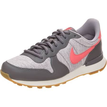 5 Grau Nike us Marken Materialmix 5 Sneaker koralle Gr Grau emblem Damen xgv0w