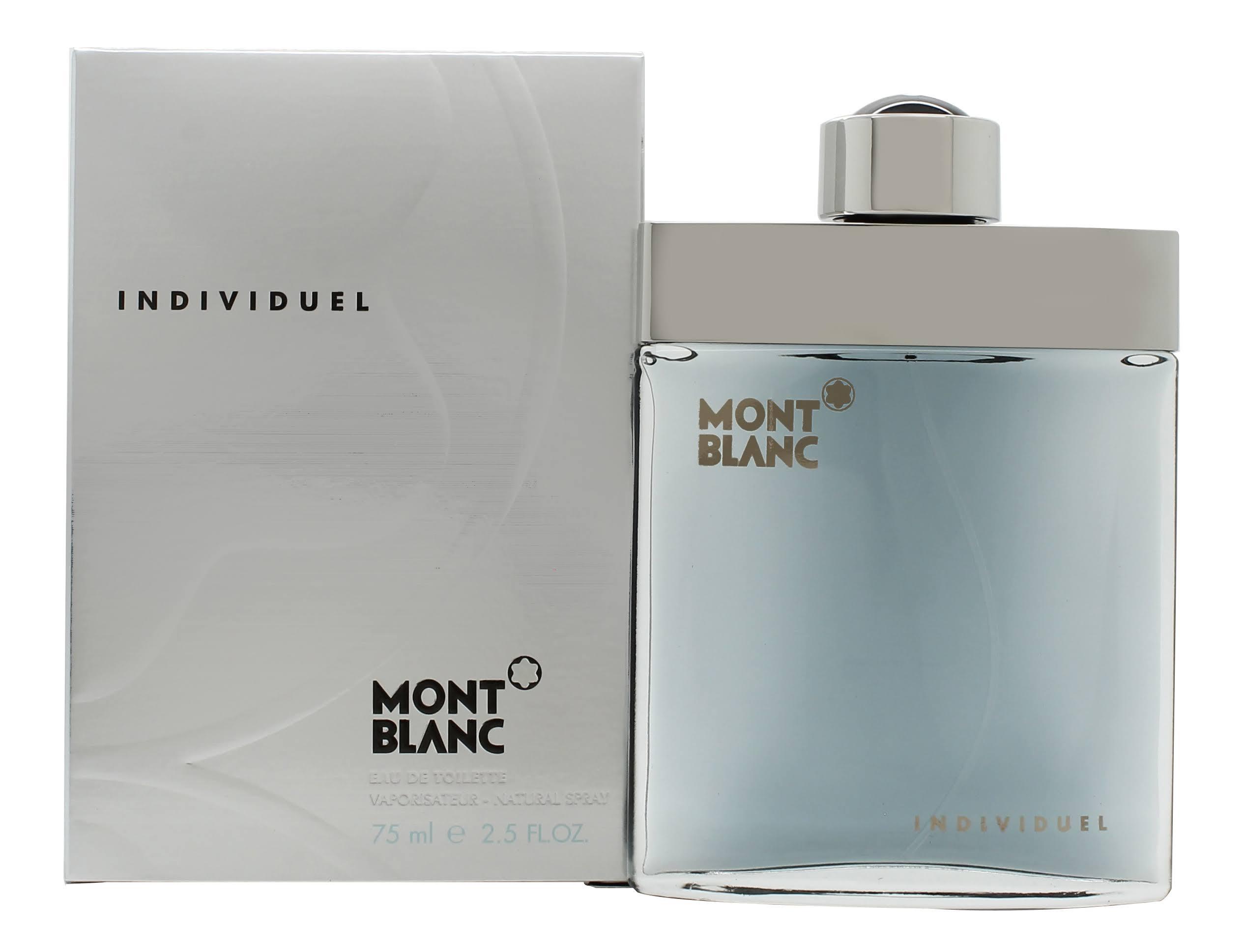 Mont De Blanc Spray Toilette Hombres Para Eau Individual qSt6q