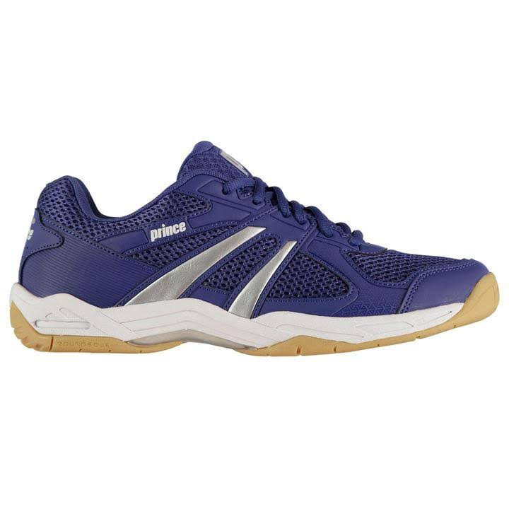 Prince Turbo Pro Squash Shoes Mens - Navy/White