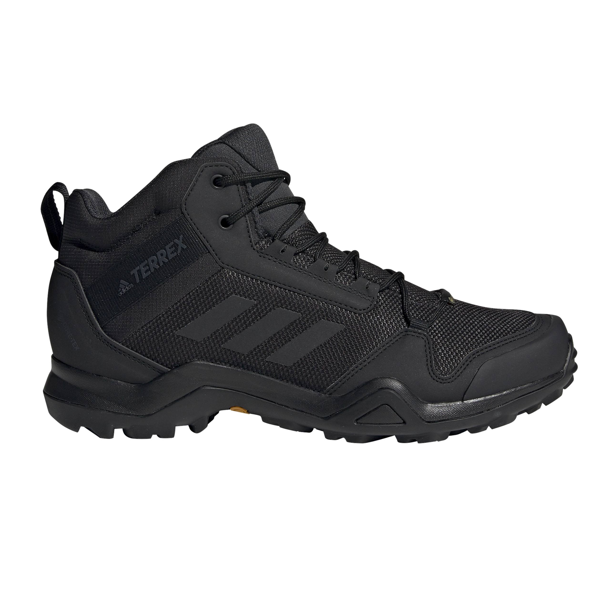 Adidas Men's Terrex AX3 Mid Gore-Tex Shoes - Black