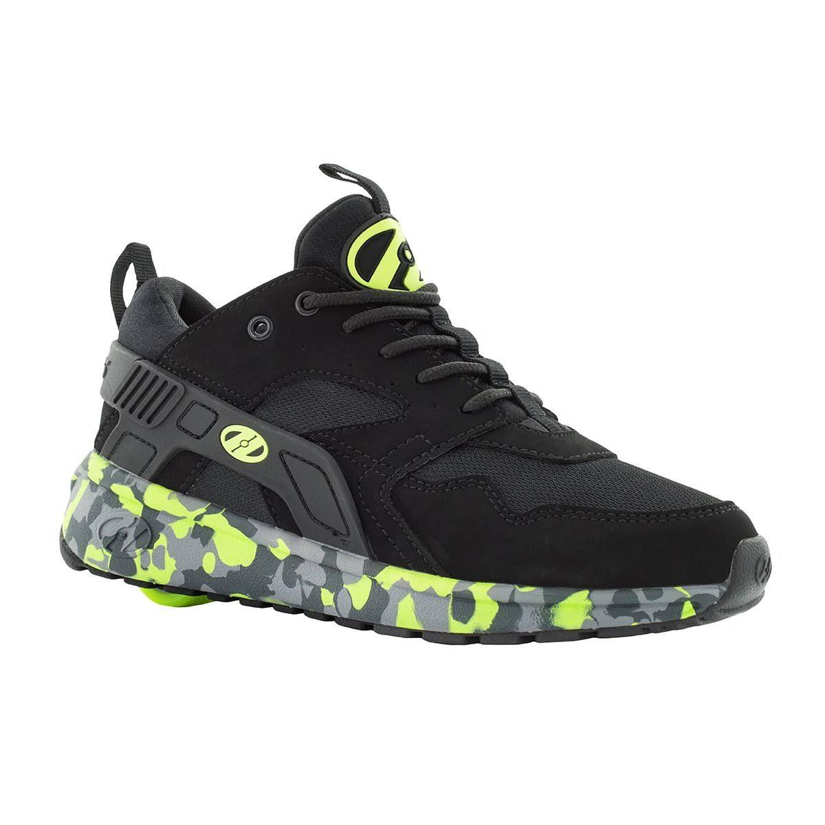 Confeti Unisex Brillante Negro Amarillo Heelys Rodillo Fuerza 13 Niños Tamaño Zapato Para Negro De SqqxCnOw4a