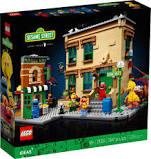 Lego Ideas 21324 Sesamstraat