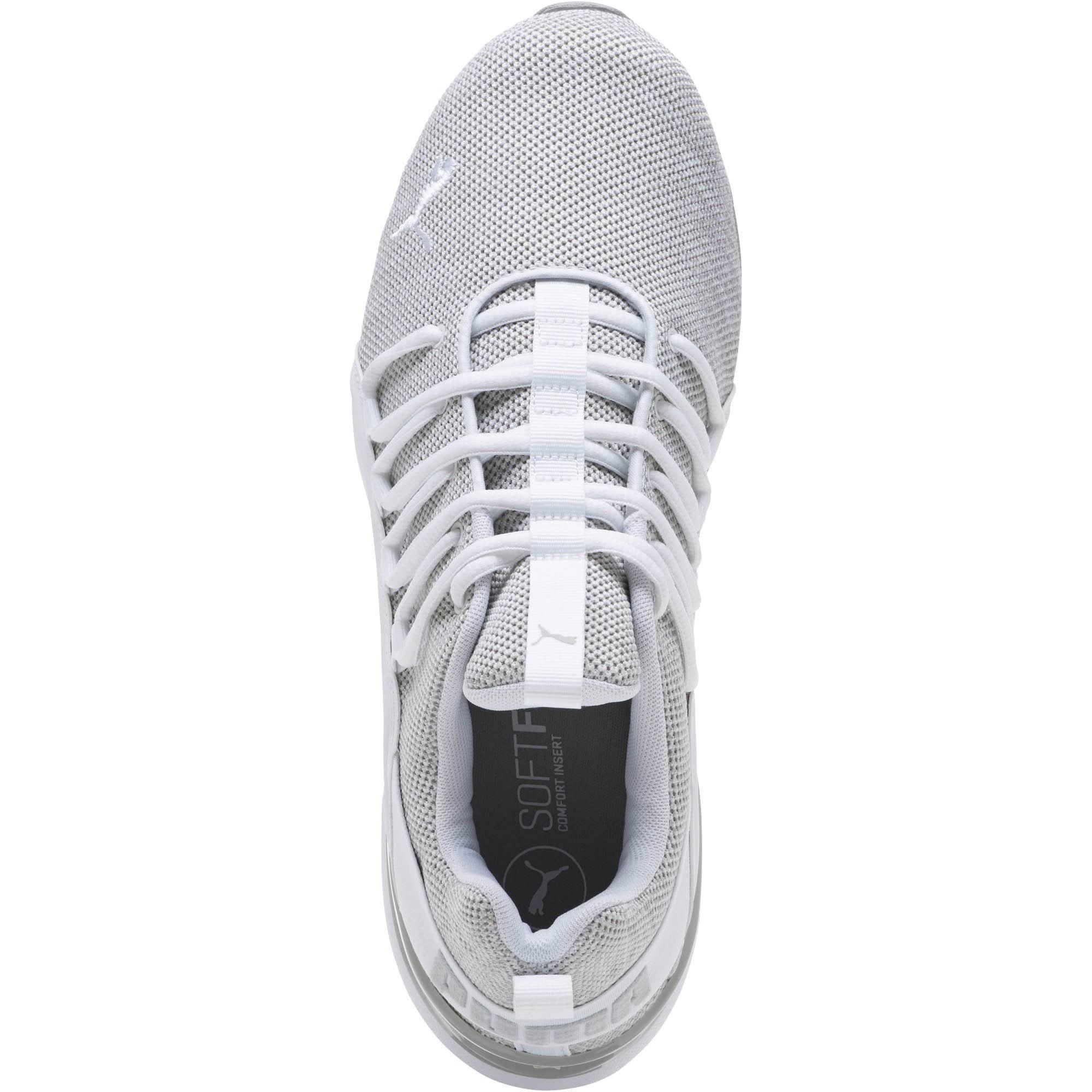 Axelion Athletic Puma Laufschuhe Mens Lace Grey Up Textile Bp6ZOq