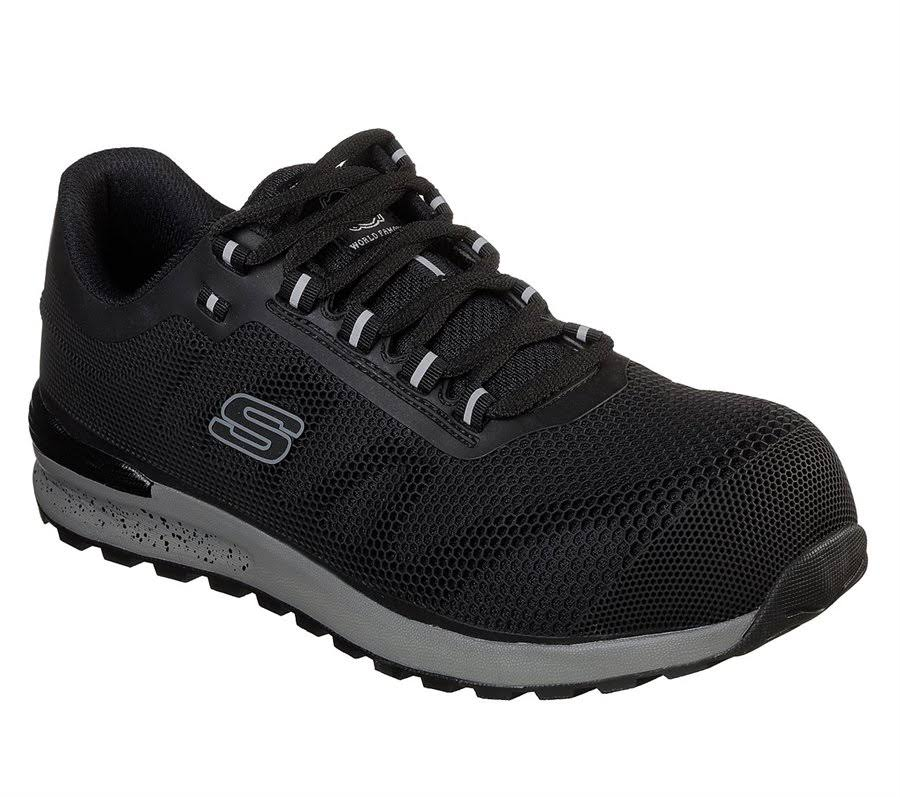 Bulklin Color Skechers Comp Tamaño Mn Negro Wide Toe 11 Xxfq5Anf