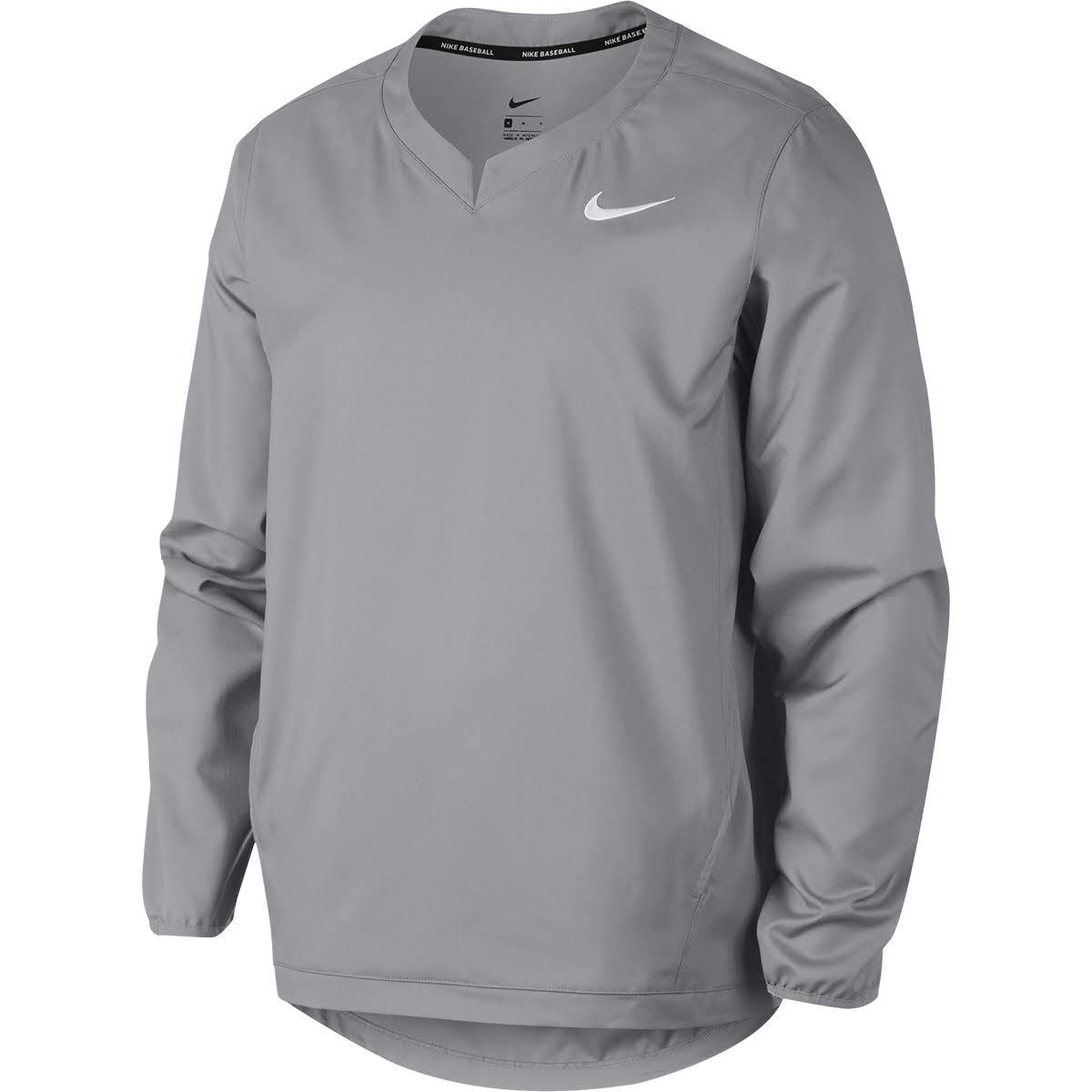 Nike X Größe Baseballjacke Männer Weiß Grey Wolf large grtg1q