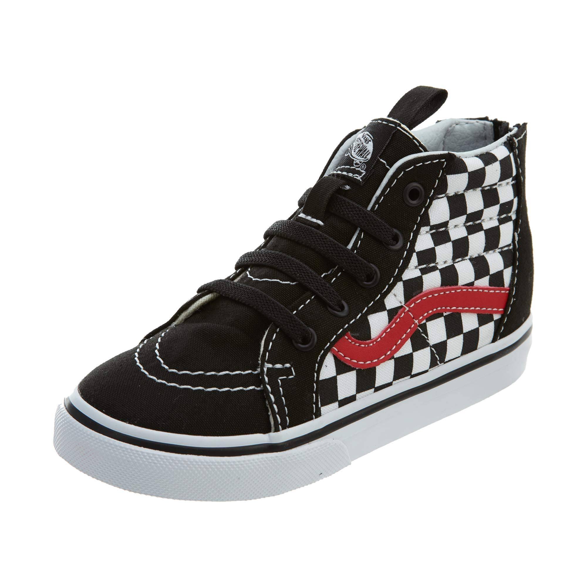 Black red Style Toddlers Sk8 Vans Zip Vn0a32r3 hi 8 qwBcFcKWy