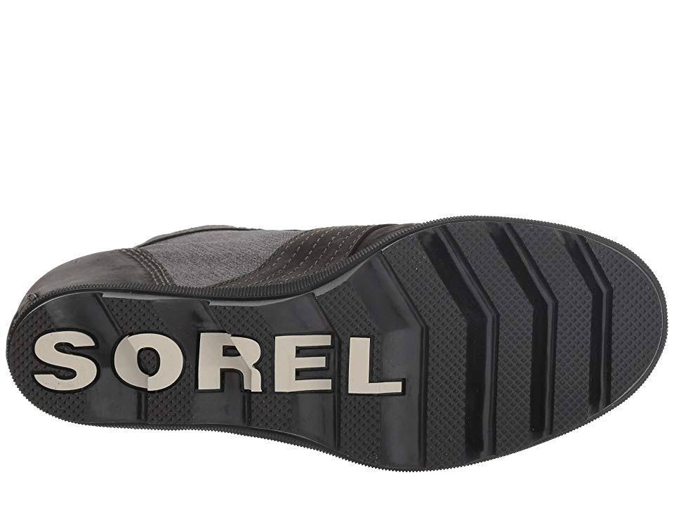 Lexie Zwart Boot10 Sorel Leertextiel Dames Wedge LR5A4j