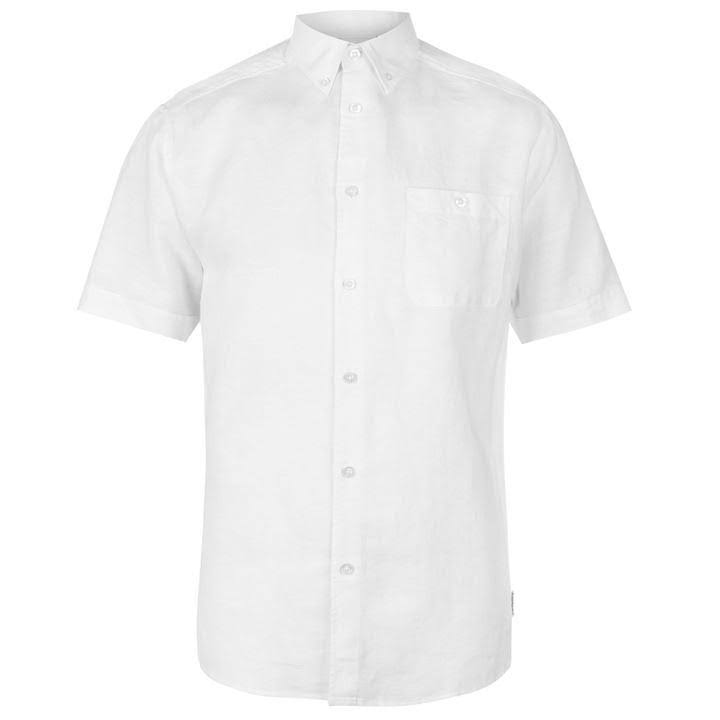 De Camisa Cardin Blanco Para Corta Manga Tamaño 2xl Pierre Hombre g441qx