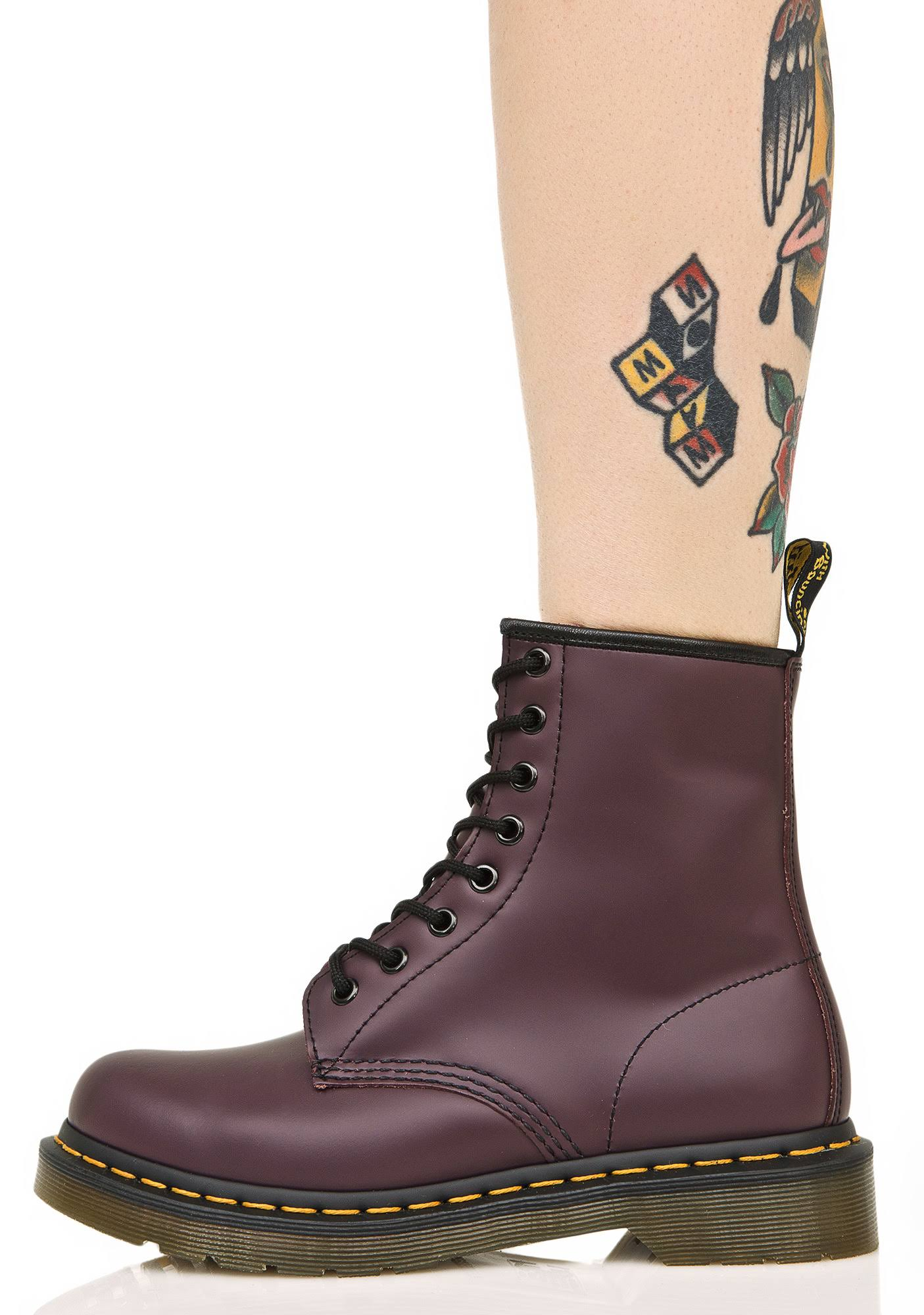 Royal 8 7 Purple DrMartens 1460 Ooglaarzen fbY76gy