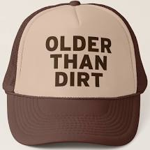 Older than Dirt Trucker Hat, Adult Unisex, Size: One size, Tan and Brown