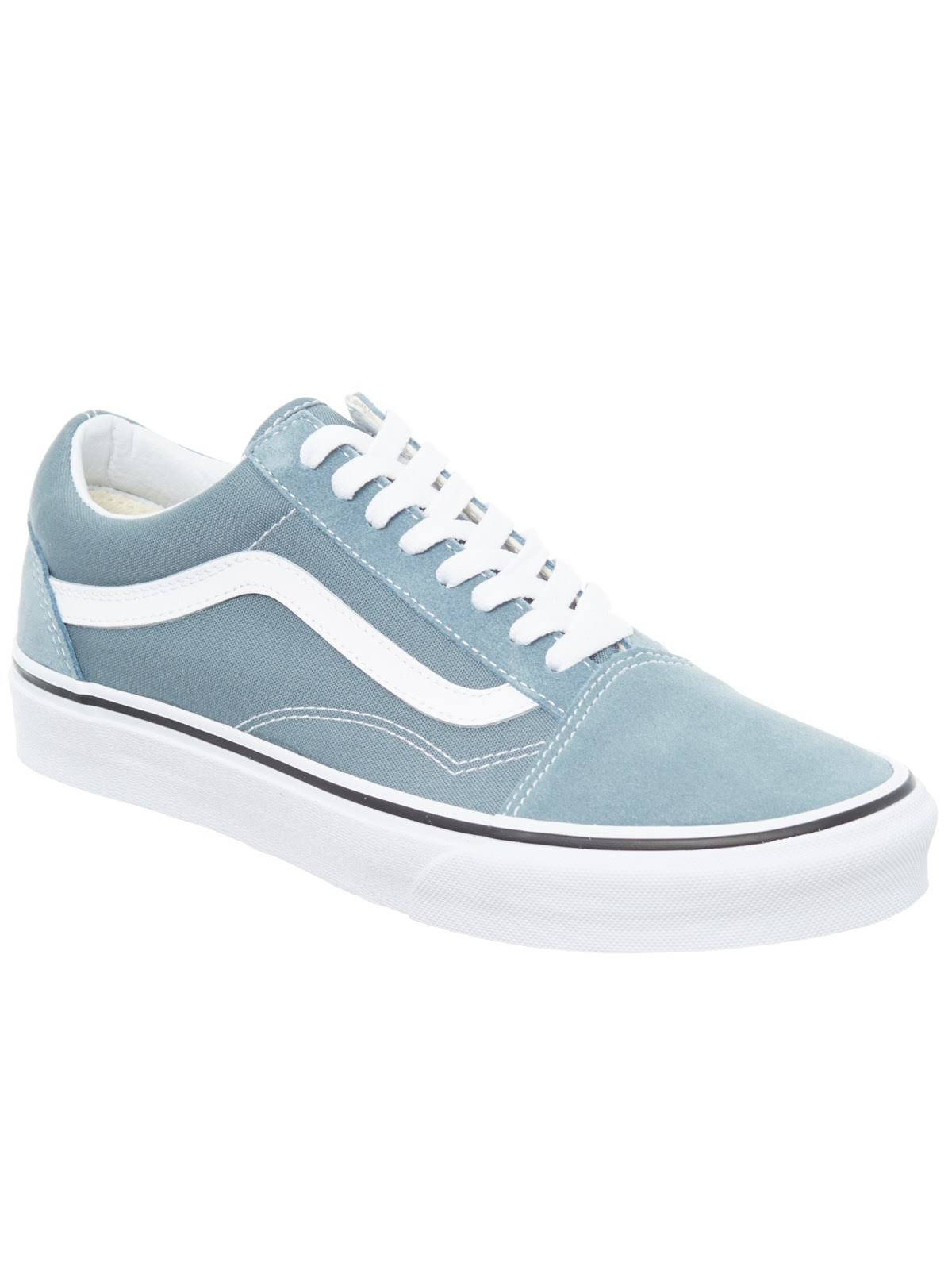 Vans Old Unisex Blau Skool Skateschuh qZOwB