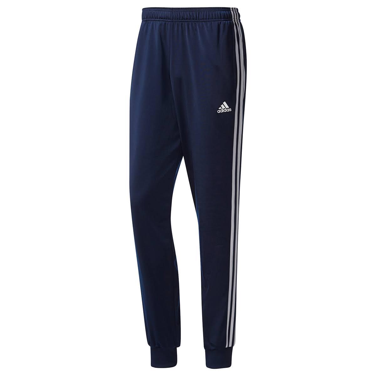 stripe essenziali Pantaloni tricot da Adidas uomo 3 affusolati m8wN0n