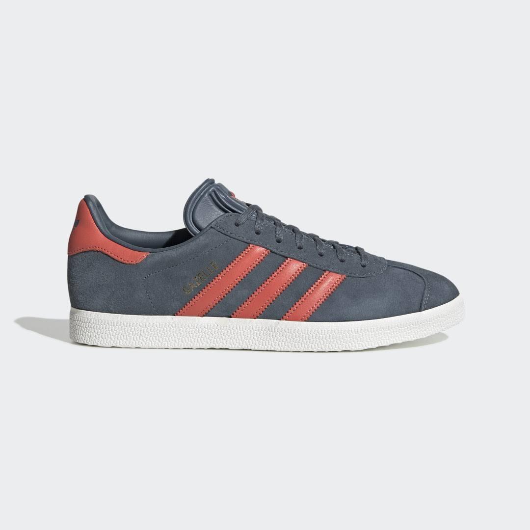 Adidas Originals Gazelle Trainer - Blue - Size - 7