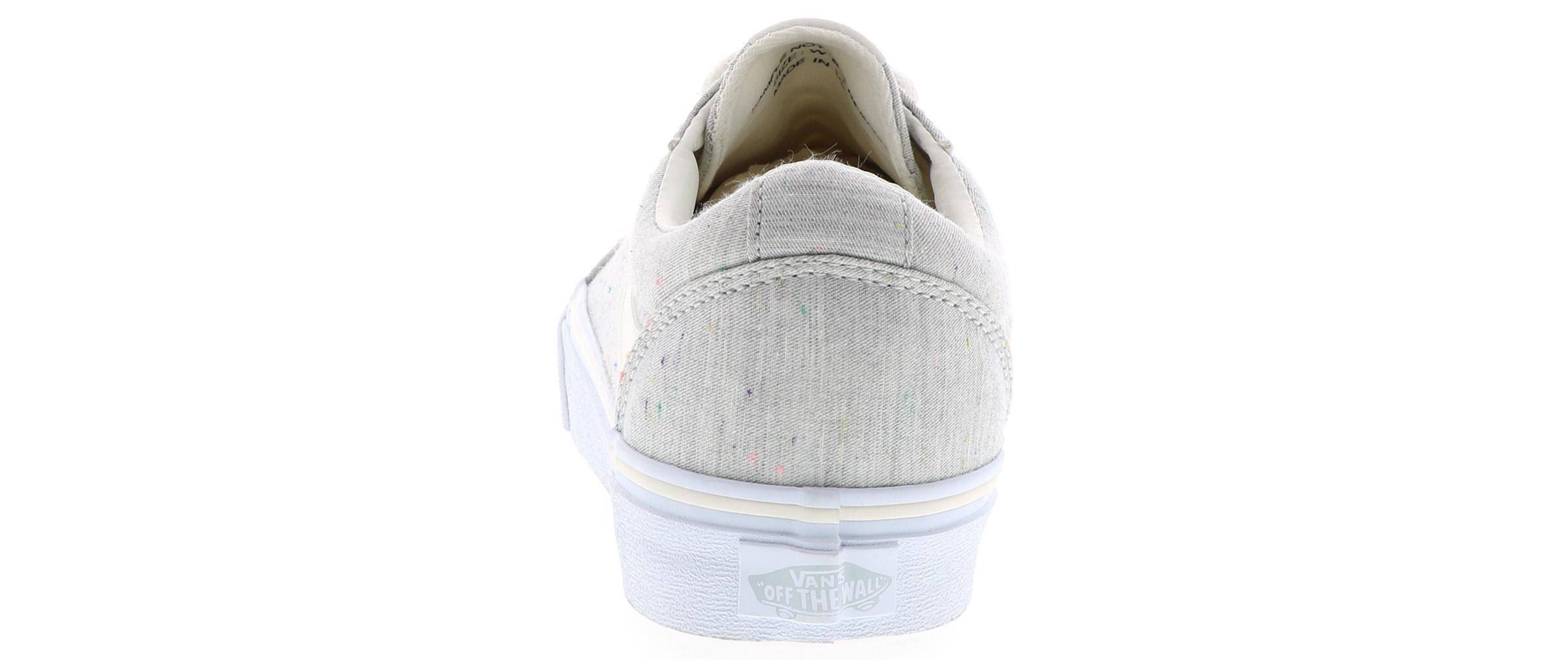 De Skate 9 Para Mediano Mujer Vans Gris Zapatillas Ward Tamaño Zdp4xZ