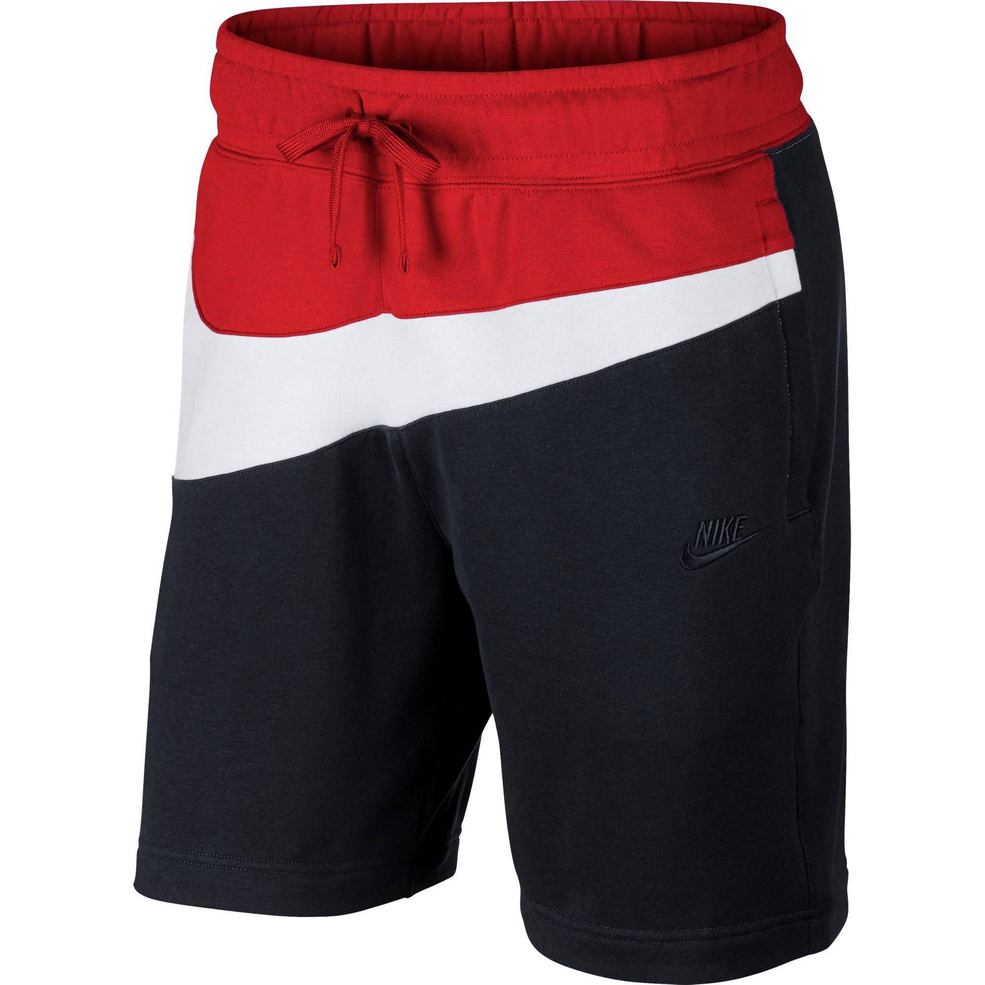 Rojo Nike Corto Pantalón Negro Hbr Grande Hombre Swoosh Para 5TaWxwR0q