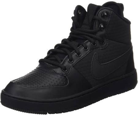 Nike Borough Black 002 Schwarz Winter black 5 8 Mid Court 5rOxq5a