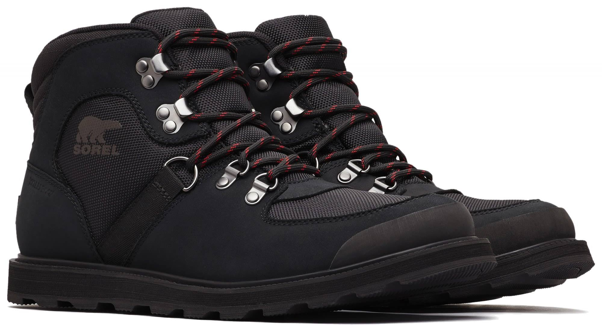 Boot Black Us 10 Men's Sorel Hiker Sport Madson Leather qxvISR
