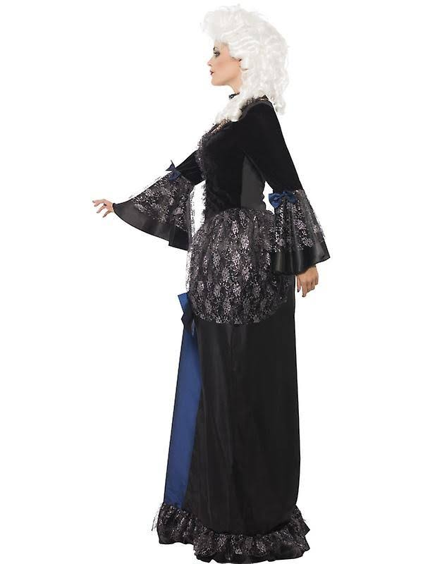 Mit Schwarz L maskerade Und Schößchen Barockes kostüm Kleid Smiffys Schönheits IqTSff