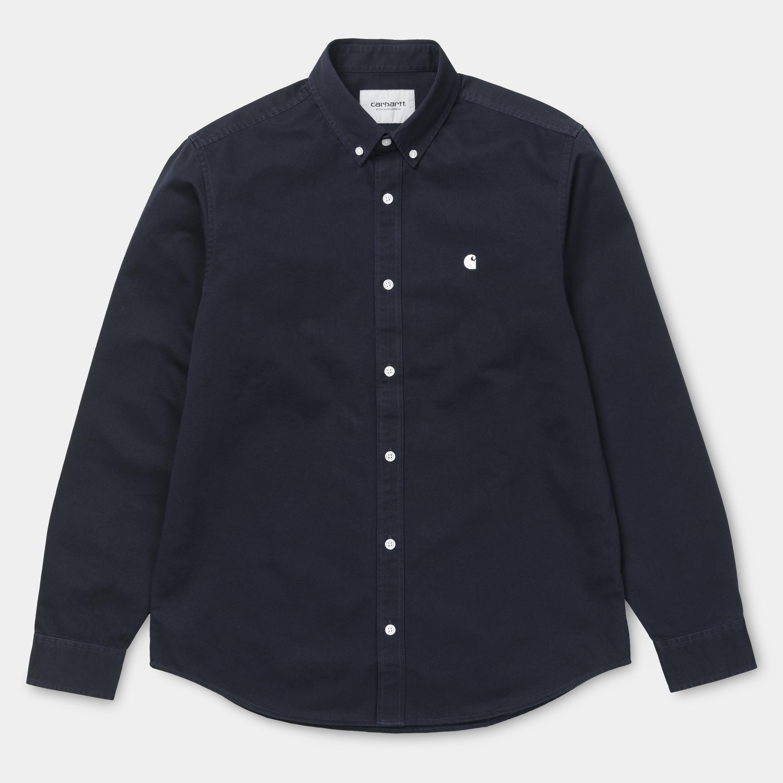 De Cera Madison Carhartt Azul Marino En Camisa Y 51PwUq