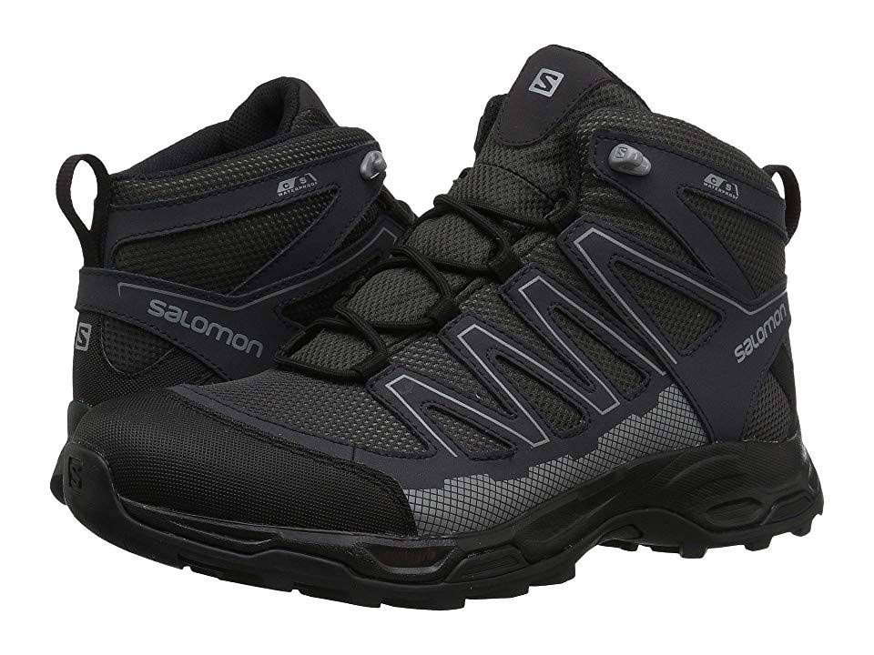 Salomon Cswp Green Moss black Men's Mid Pathfinder Hiking Boot q1wH7qF