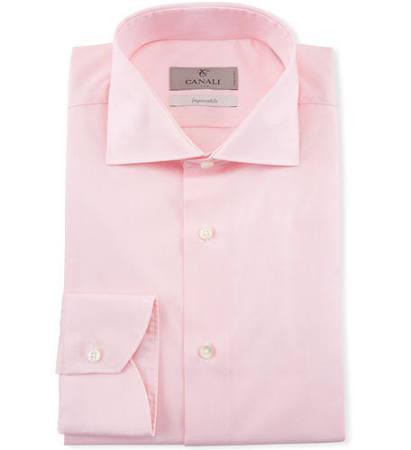 Baumwollhemd Herren Canali 17 Herren Pink wnUxg8O1xZ