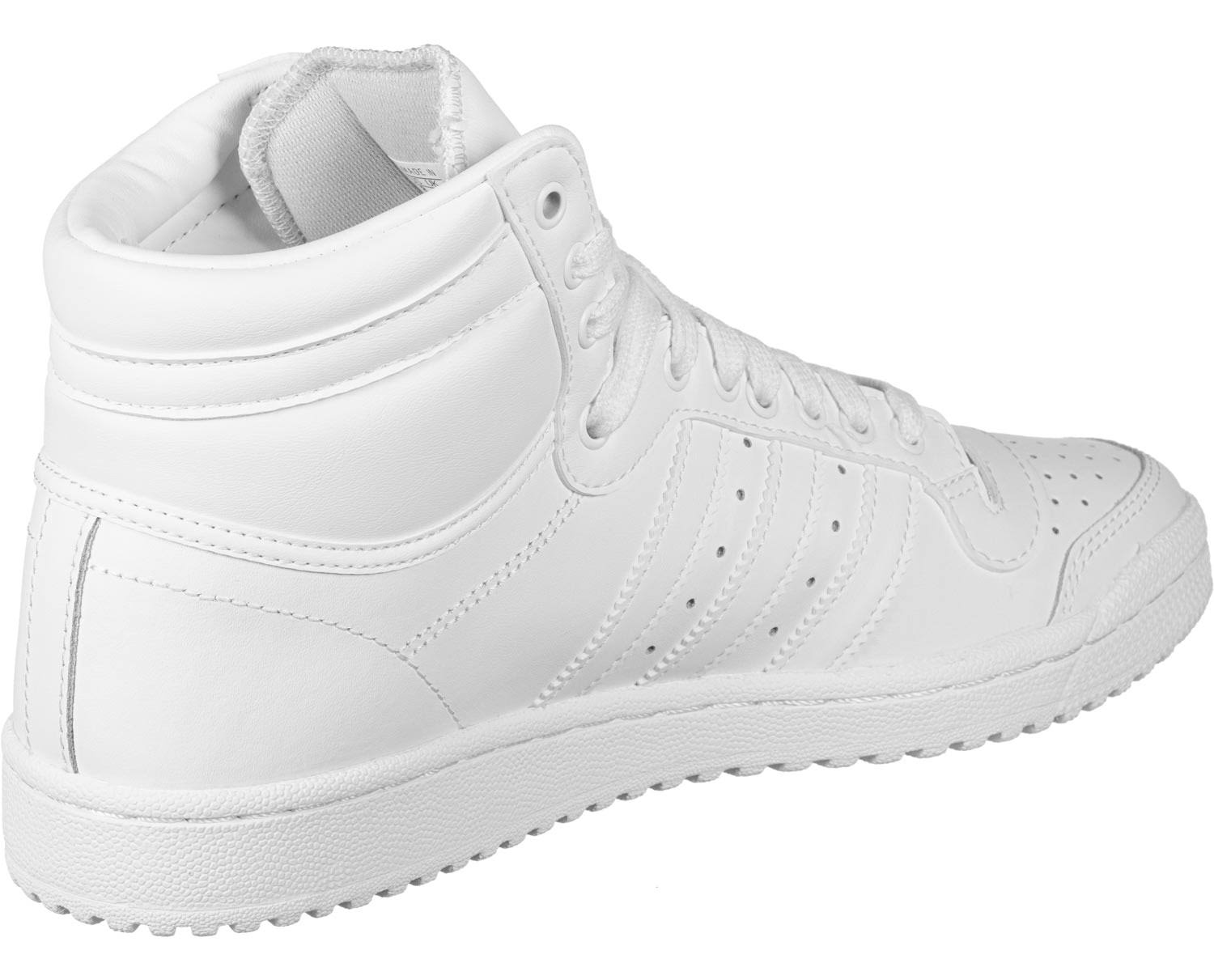 Adidas Originals Top Ten Hi Trainers - White