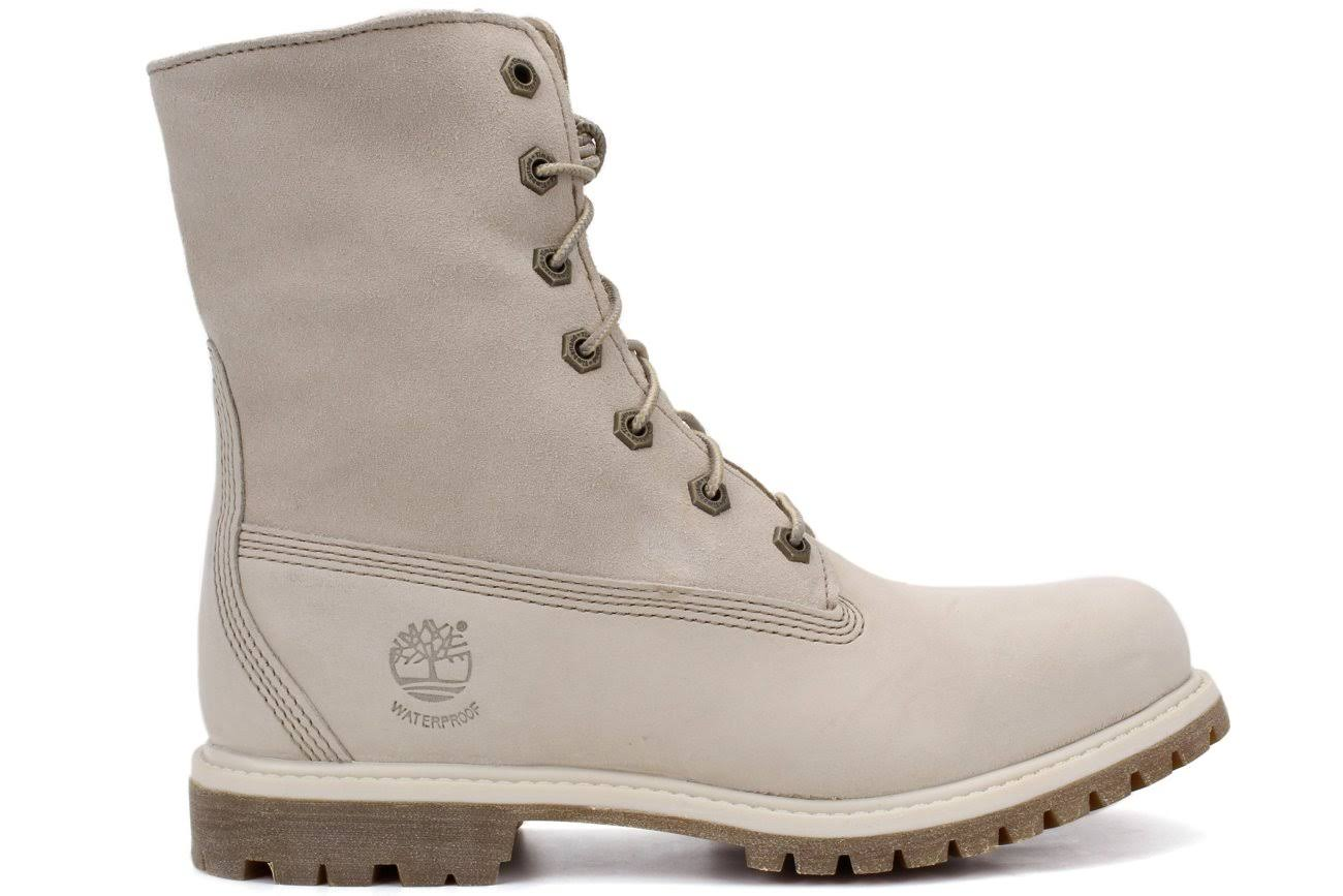 Fleece Mujeres Teddy Tb08331r148104 Invierno Blanco Down 9 Boots Fold Tamaño Timberland 5Uq4Z