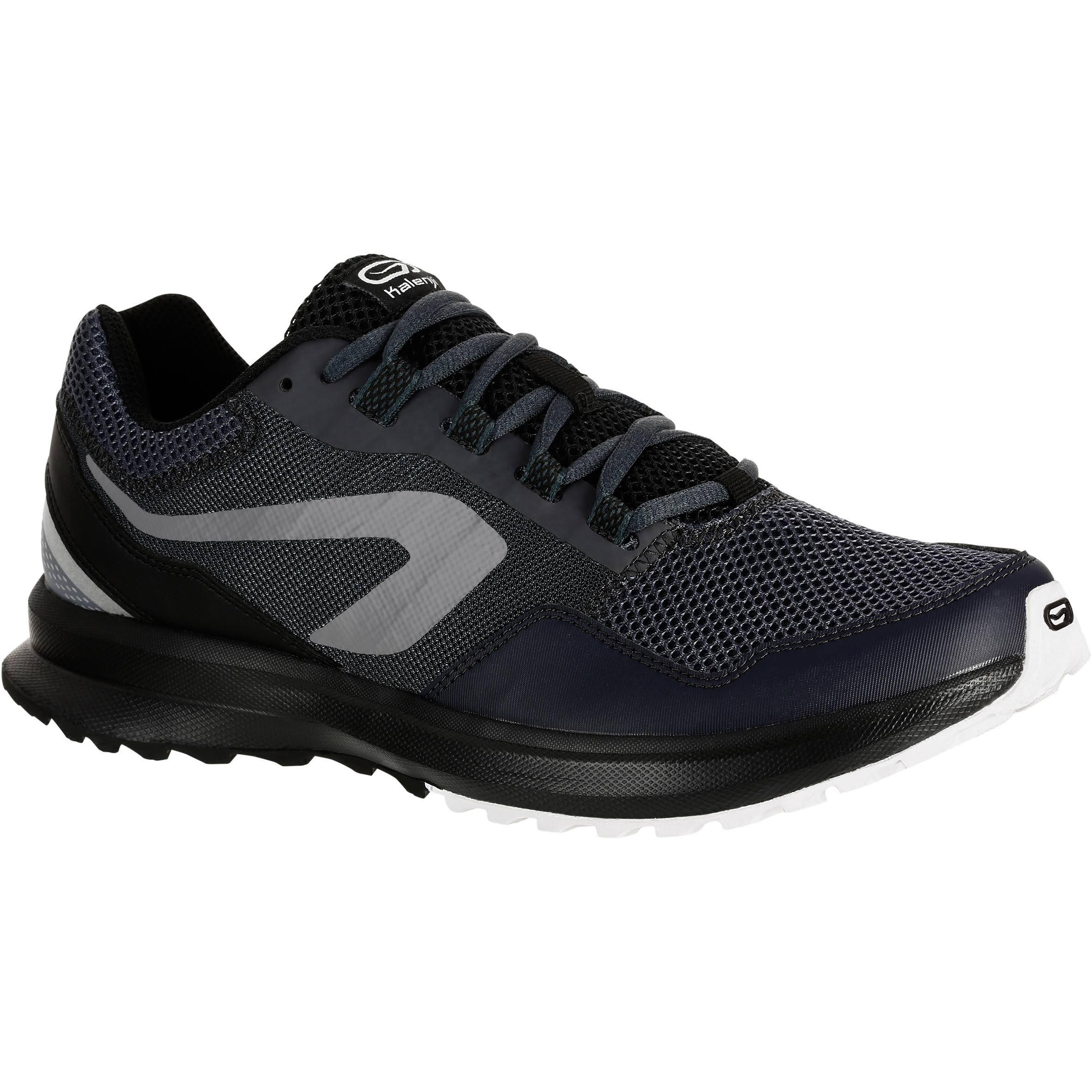 Kalenji Run Active Grip Men's Running Shoe - Grey/Black