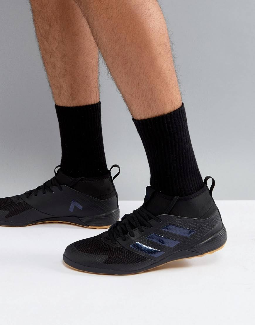 Primemesh 6 Ace Zapatillas De Interiores Fútbol Negro 17 Tamaño 3 Hombre Adidas Para 1txBAOnn